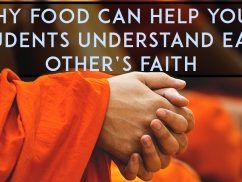Why food can help your students understand each other's faith