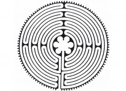 labyrinth for secondary school christmas