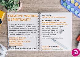 Creative Writing & Spirituality Day